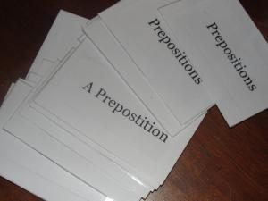 grammar memory cards